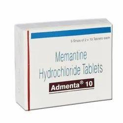 Memantine Hydrochloride Tablet 10 mg