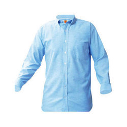 Full Sleeves Plain Casual Shirt, Size: Medium And XL