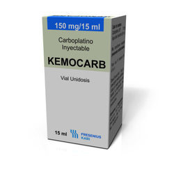 Kemocarb Carboplatino Inyectable Injection