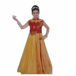 Gilrs Party Wear Gown Dress