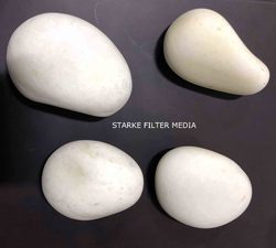 Pebble Stone White River Pebble, for Landscaping