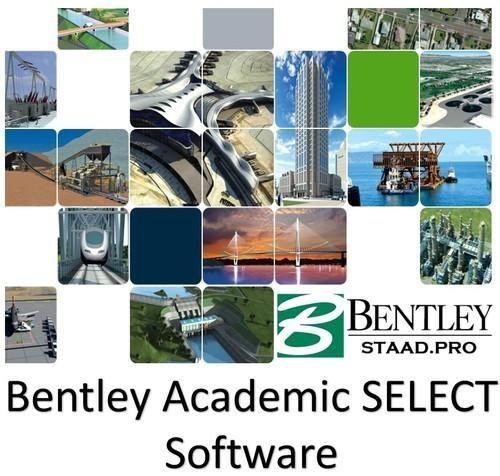 Staad Pro Bentley Academic Select Civil Engineering Design Software स व ल इ ज न यर ग स फ टव यर स व ल अभ य त र क स फ टव यर In Vidyaranyapura Bengaluru Niha Solutions Id 17634942962