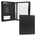 Leather Ring Binder Presentation Folder