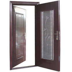 Twin Security Door