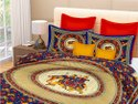 Rajasthani Rajwada Double Bed Sheet Cotton