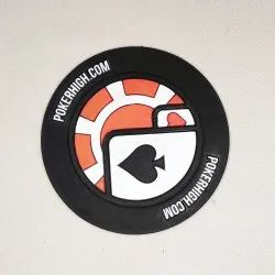 Round Shape Silicon Rubber Label
