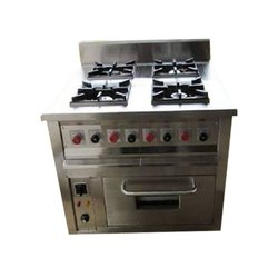 Four Burner Electric Oven