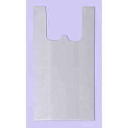 PP Market Quality W Cut Bag - Plain