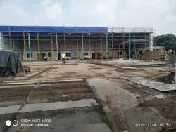 Steel Prefab Prefabricated Building Structure, for Industrial