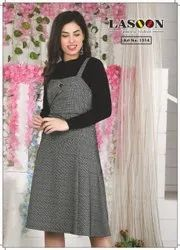 6036 Fancy Woolen Dress