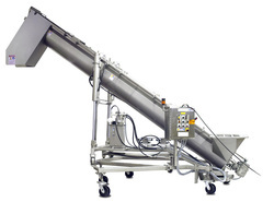 GNE MS Screw Conveyors, Capacity: 500 Kg