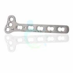 T Oblique Distal Radius Locking Plate