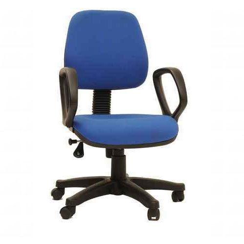 Blue Revolving Computer Chair