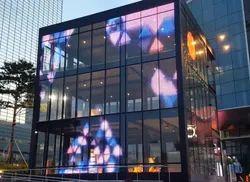LED Facade Transparent Glass