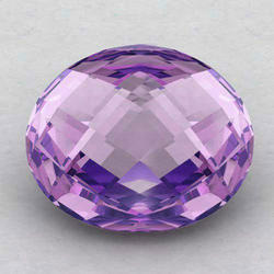 Violet Natural Amethyst Gemstones