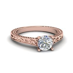 Sparkling Solitaire Diamond Ring