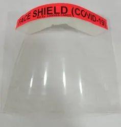 Polycarbonate Size: 33 Cm X 22 Cm Face shields