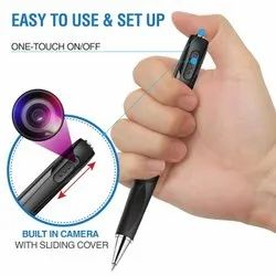 32 GB 20 to 25 m WIFI HD PEN CAMERA, For Security