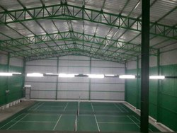 Acrylic Flooring Badminton Court Construction Services, in PAN India