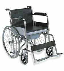 Regular Wheel Chair With Commod & Foam Seat