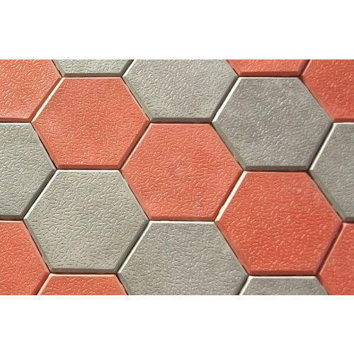 Concrete Paver Block Shape Hexagonal Rs 28 Square Feet