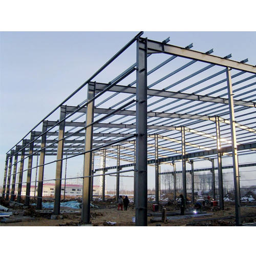 Prefabricated Building Structure Installation