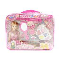 PVC Pink Barbie Doll Kit, Packaging Type: Packet