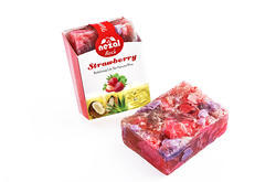 Rock Strawberry Handmade Soap