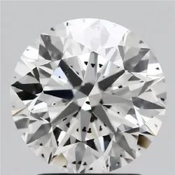 2.13ct Lab Grown Diamond CVD G SI2 Round Brilliant Cut IGI Certified Stone