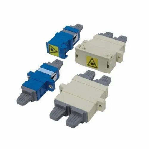 SC/SC Duplex SM Zirconia SNM Adaptor