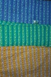 Multi Color Cotton Leheriya Printed Fabrics