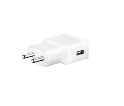 White Travel Adapter (2A)-Adaptive Fast Charging