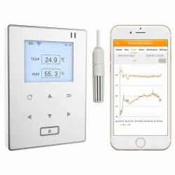 Temperature and Humidity Data Logger with Cloud Based Remote Monitor