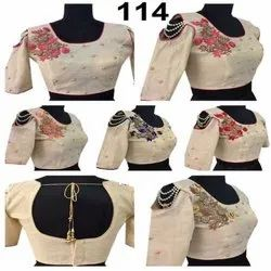 Shoulder Chain Style Blouses