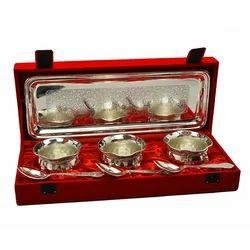 Silver Plated Handi Set