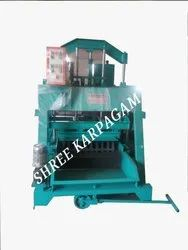 TRIPLE VIBRATOR SOLID BLOCK MAKING MACHINE