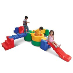 Indoor Plastic kid's Play Equipments., For Playground