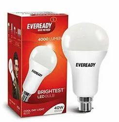 Cool Daylight Aluminum 40w LED Bulb, Base Type: B22