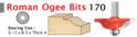 Roman Ogee Bits
