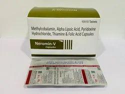 Methylcobalamin, Alpha Lipoic Acid, Pyridoxine Hydrochloride, Thiamine & Folic Acid Capsules