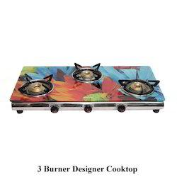 3 Burner Designer Cooktop