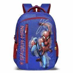 Sanchi Creation Priority Titan Spider-Man Casual School/College Waterproof Backpack (Blue, 40 L)
