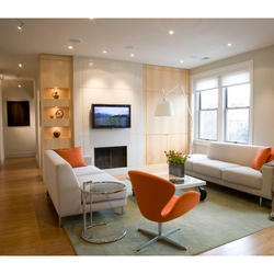 Living Room Interior Decoration Service