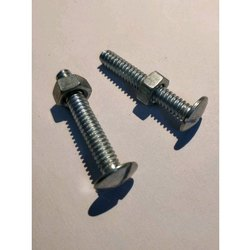 MS Roofing Nut Bolt, Size: 1-2 Inch