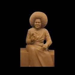 Marble Satya Sai Baba Statue