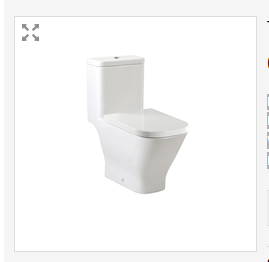 Roca White The Gap One Piece WC With Dual Outlet, Size