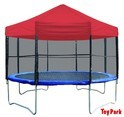 14FT. Trampoline With Canopy & Ladder (PI 553)