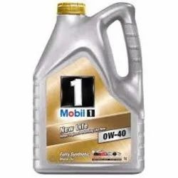 Mobil1 0w - 40 Advanced Full Synthetic Engine Oil, Unit Pack Size: 1 & 4 Lit., for Automobiles
