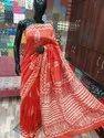 Hand Block Chanderi Silk Saree