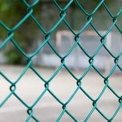 Iron Green PVC Coated Hexagonal Wire Mesh, For Fencing